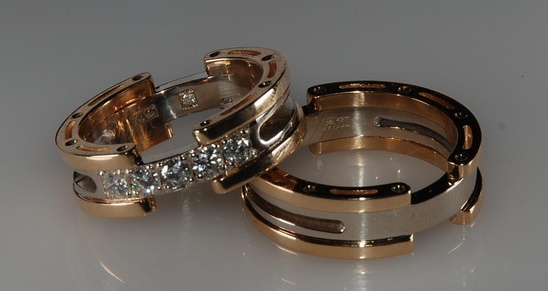 свадебные кольца на заказ